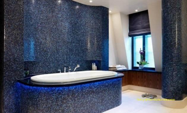 Salle De Bain Moderne Bleu