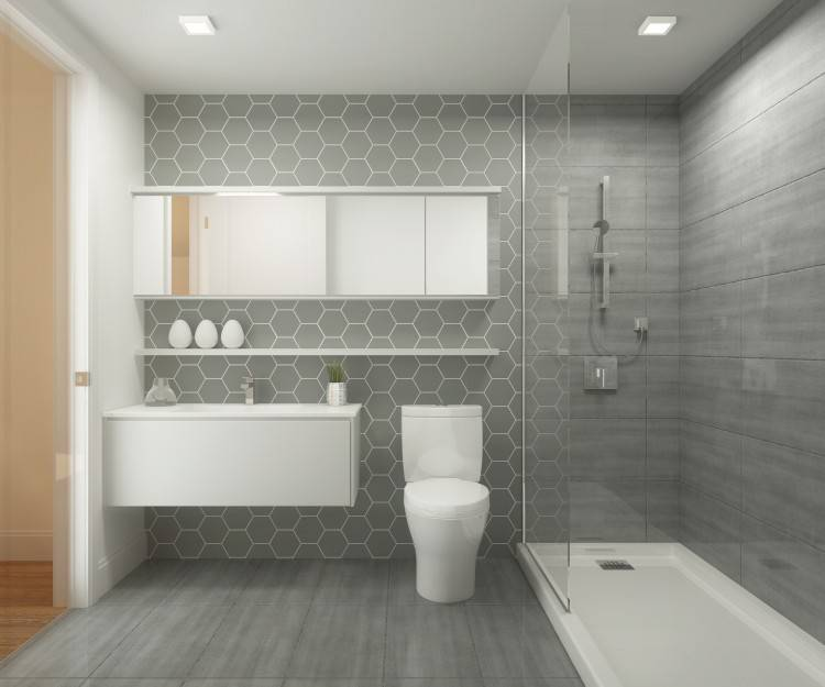 decoration petite salle de bain moderne design
