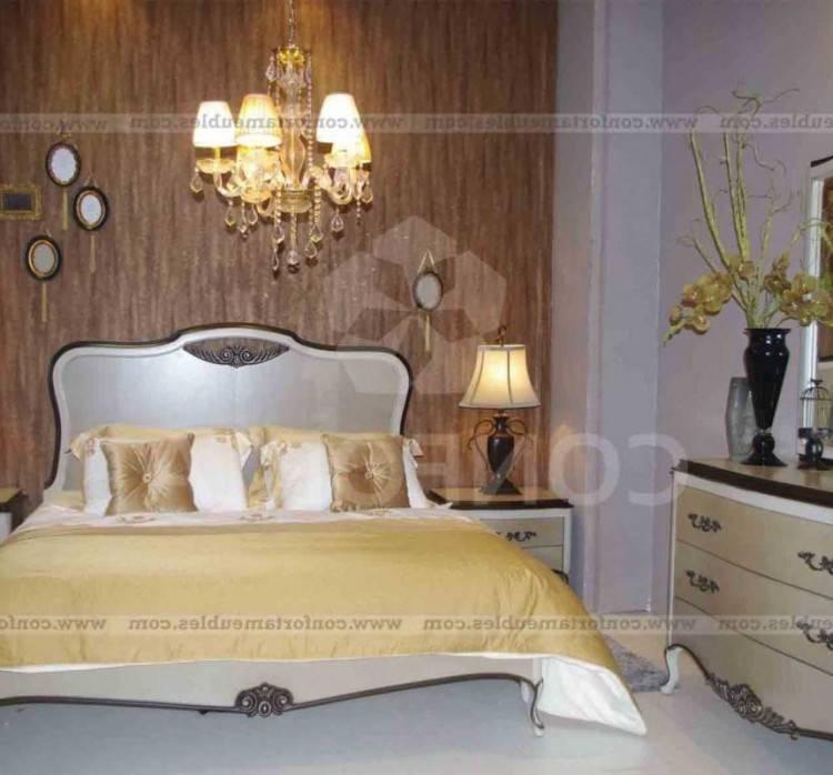 Chambre à coucher 2 personnes en bois