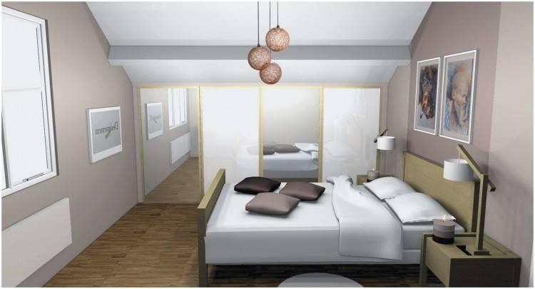 chambre ambiance zen original idée aménagement intérieur moderne tableau mur plante