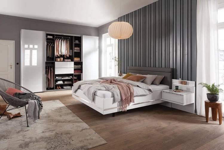 Intérieur classique de chambre à coucher