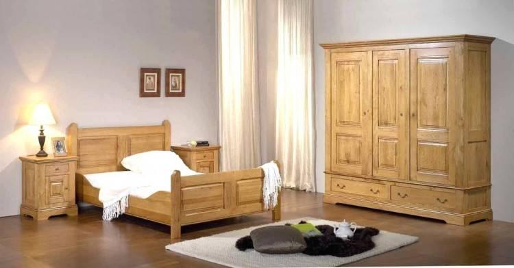 A Coucher Maroc Collection Et TL Squares RFCC00104 – Chambre à coucher Moderne en bois massif