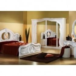 Le lit baroque en 40 photos romantiques | Chambre à coucher