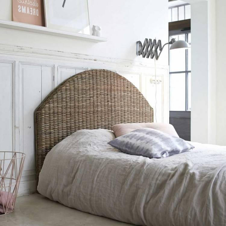chambre à coucher complète en rotin