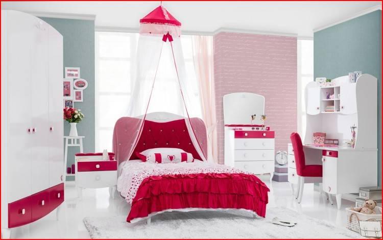 Chambres à coucher roses
