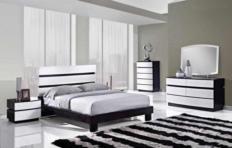 Ides Dimages De Chambre A Coucher Moderne Noir Et Blanc En Algerie Avec Chambre A Coucher