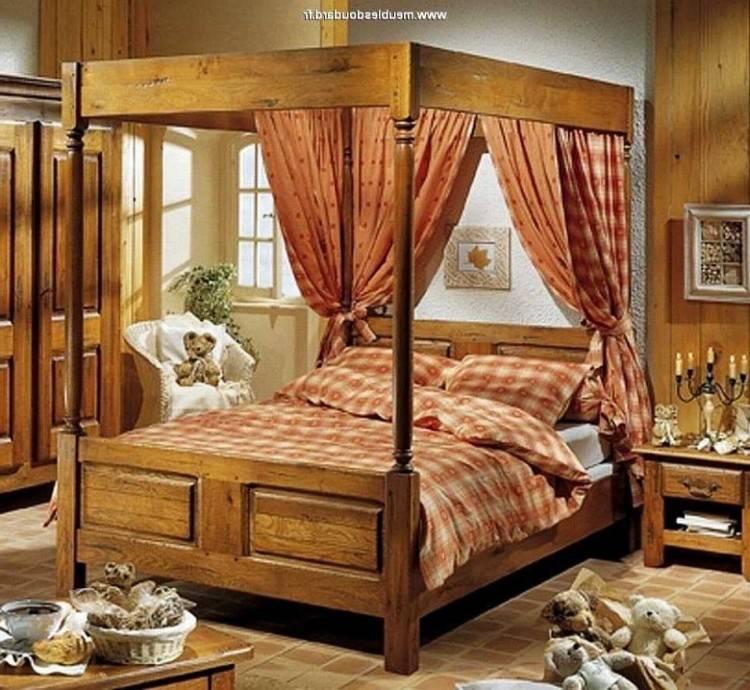 Chambre Coucher Rustique