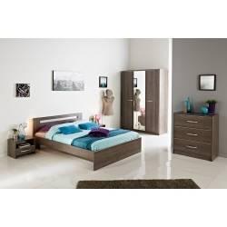 Une des chambres à coucher