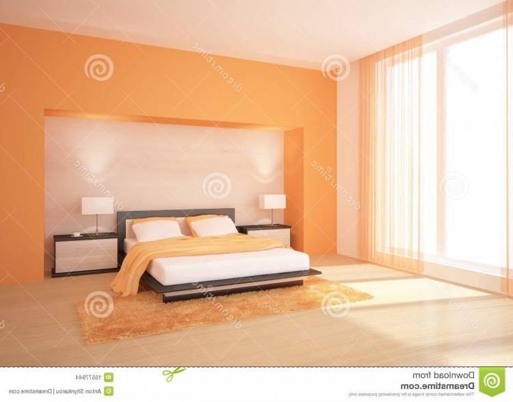 Chambre à coucher avec la vue de lac photos libres de droits