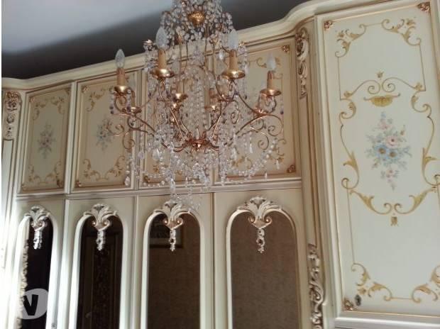 Chambre baroque – déco baroque dans la chambre à coucher