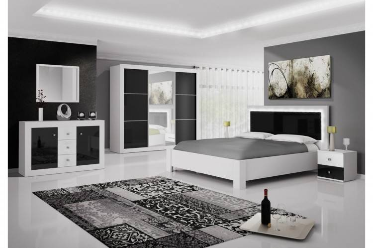 Chambre A Coucher Moderne Noir Et Blanc Nouveau Chambre A Coucher Moderne Noir Et Blanc Deco