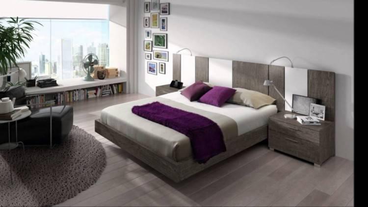 rfcc00122 chambre a coucher moderne en bois massif hatre mgc maroc