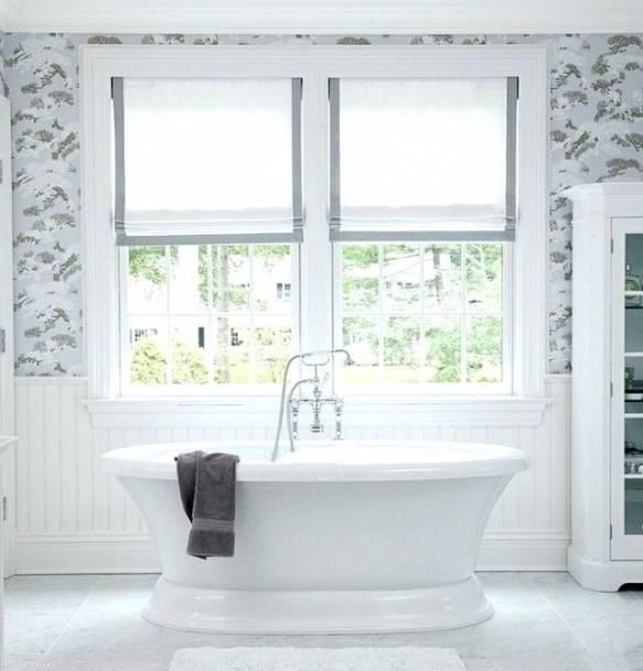20 idaces pour rideaux de fenatre salle bain designdemaison rideau fenetre avec baignoire a griffes moderne