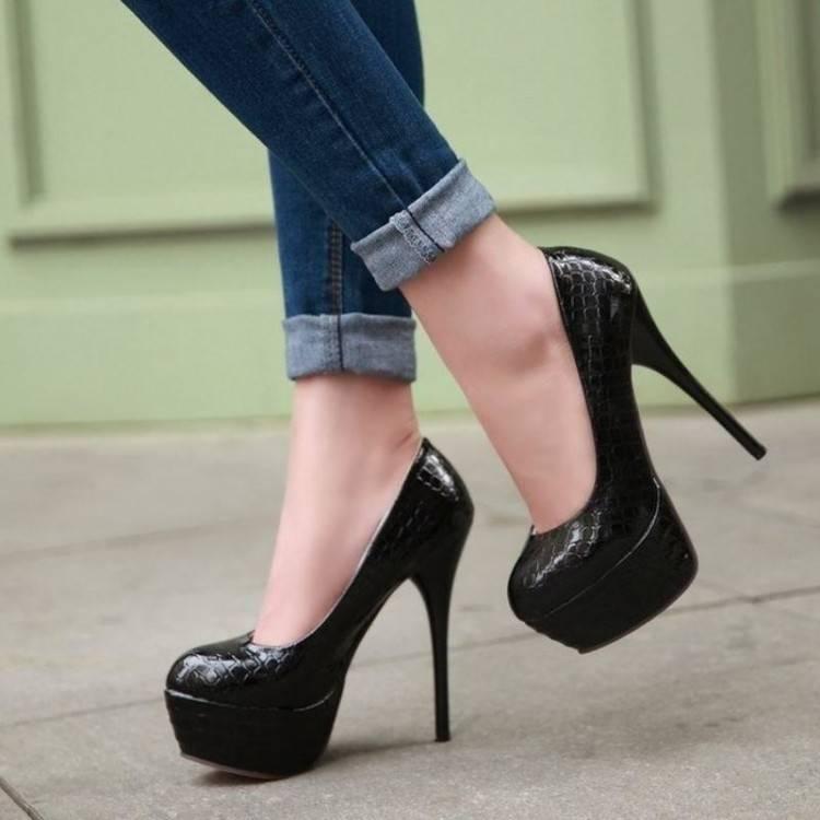 Chaussure à talon Pearl