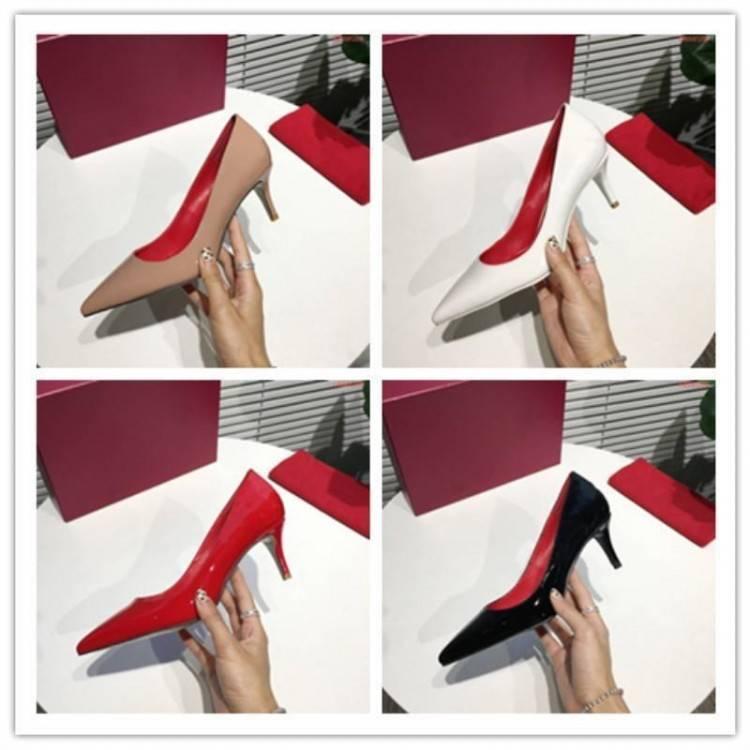 Acheter Les Femmes À Talons Hauts Mode Belle Chaussures À Talon Nouvelle Fille A Souligné Robe Chaussures Professionnelles En Cuir Chaussures De Mariage À