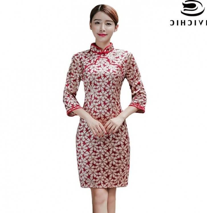 Neuve Sexy Vêtement Femme Nuit Manteau Dj Robe Chinois Holt Moulant Mode  Style pqd7PS