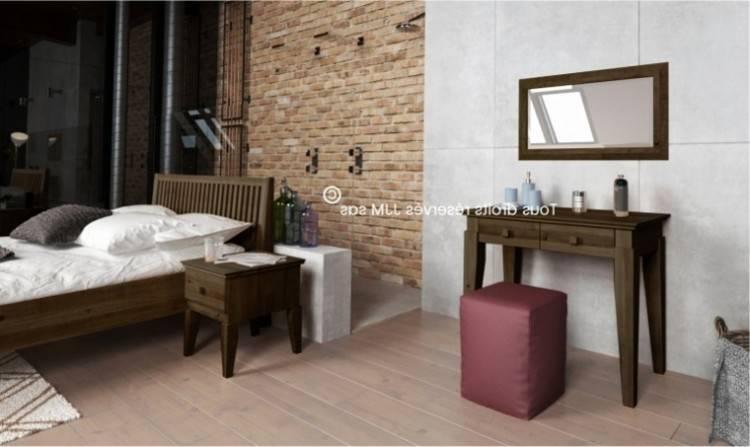Chambre Team 7 modèle Riletto avec lit, tables de nuit, commode, coiffeuse  et