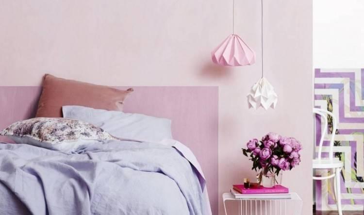 Fusion rose et noir: Si vous voulez un effet assez moderne sur votre chambre  rose, Les garnitures noires feraient la différence