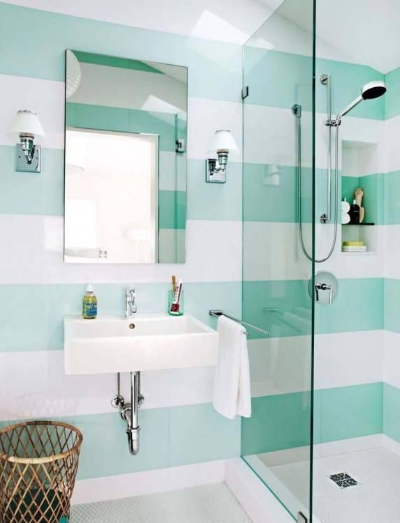 Décorer les murs d'une peinture turquoise – 38 idées avec une touche d'été