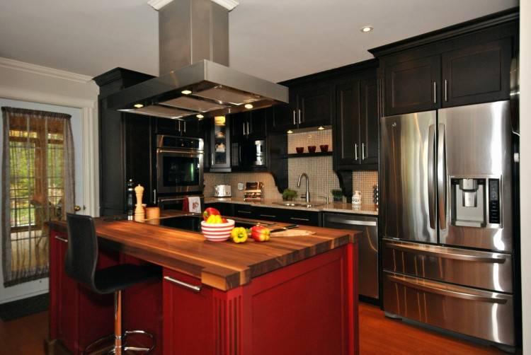 îlot central design cuisine contemporaine ambiance accueillante 50+ modèles de cuisines avec îlot central design et hors standard