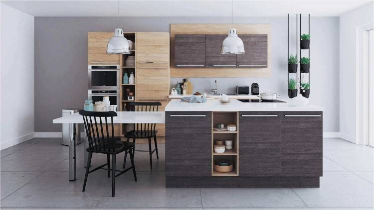 The open design allows you  to store and show cherished cooking items that give each kitchen its unique