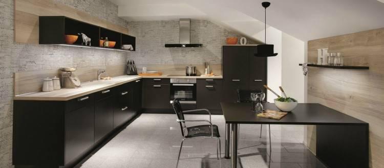8 Merveilleux Modele De Cuisine Noir Mat