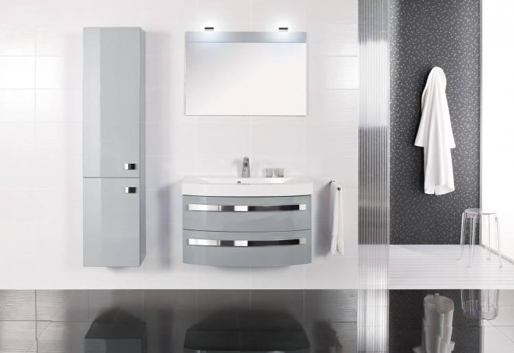 une salle de bains grise aclacgance et chic contemporain archzine salle de bains grise salle de