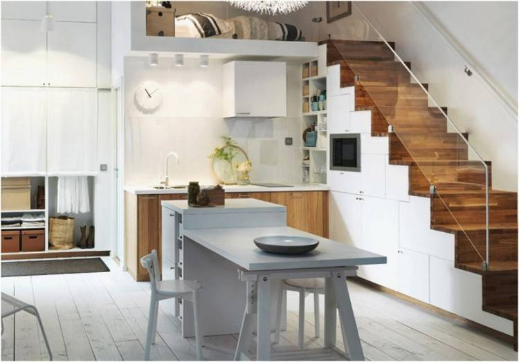 Full Size of Accessoire Sur Deco Ouverte Travail City Jaune Sejour Blanche Plan Moderne Peinture Salon · cuisine salon rouge modele