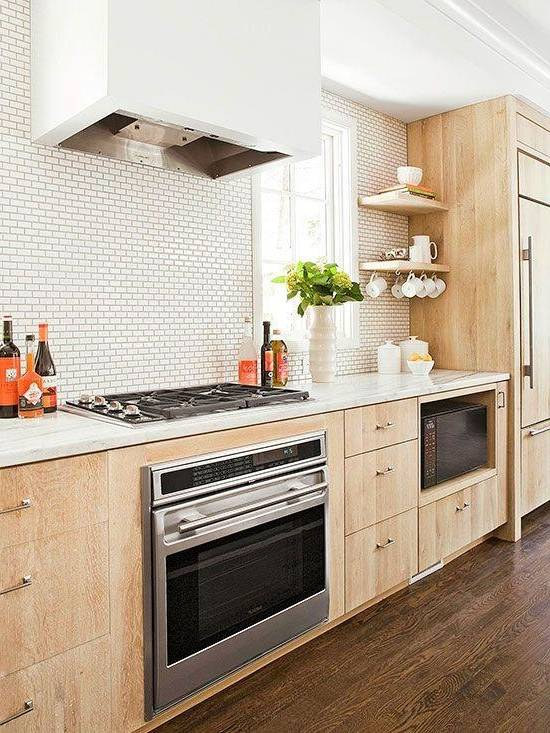 modele cuisine moderne en bois morne sign