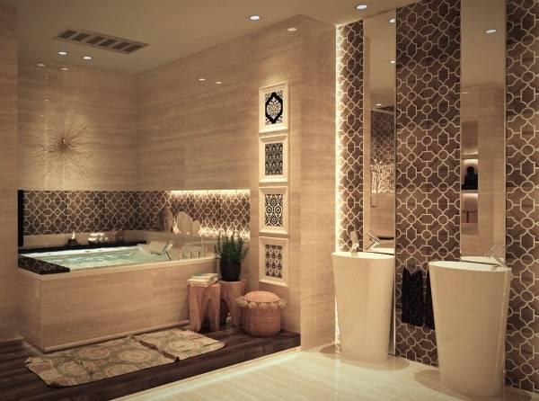Carrelage Marocain Zellige Pour Carrelage Salle De Bain Moderne Les 44  Meilleures Images Du Tableau B A T H