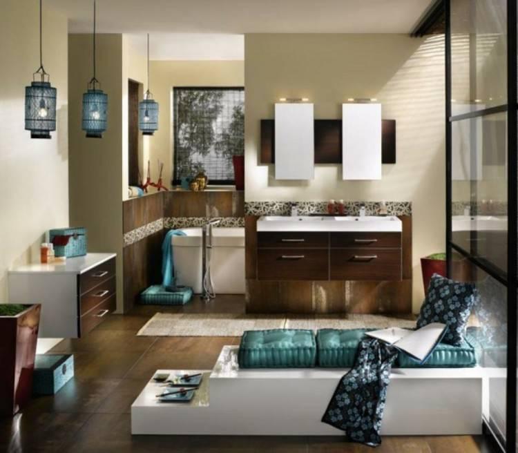 Salle de bain moderne et zen - Faience salle de bain zen ...