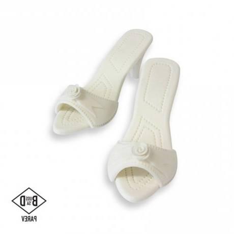 Chaussures Femme Blanches À Talons (blanc 100)