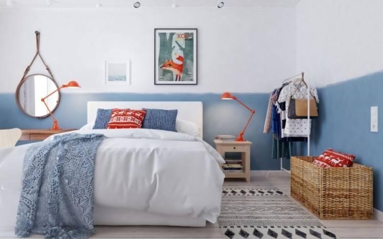 Autant apprécié pour son confort que son aura décorative, le style scandinave s'aventure aussi dans la chambre à coucher