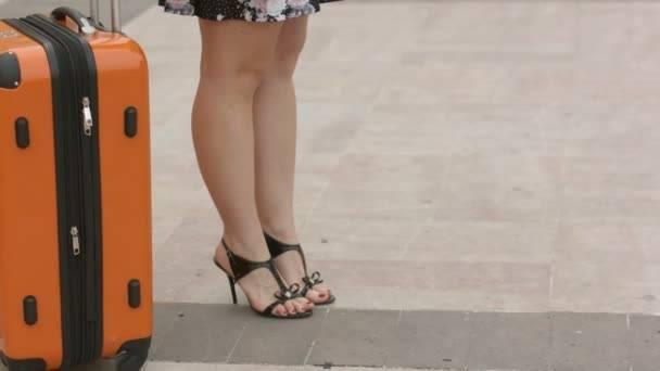 Anna Field Chaussures à Talons Pour Femme en Noir, Rouge Ou Beige – Escarpins Femme avec Plateformes – Chaussures de Danse de Salon Élégantes – Chaussures