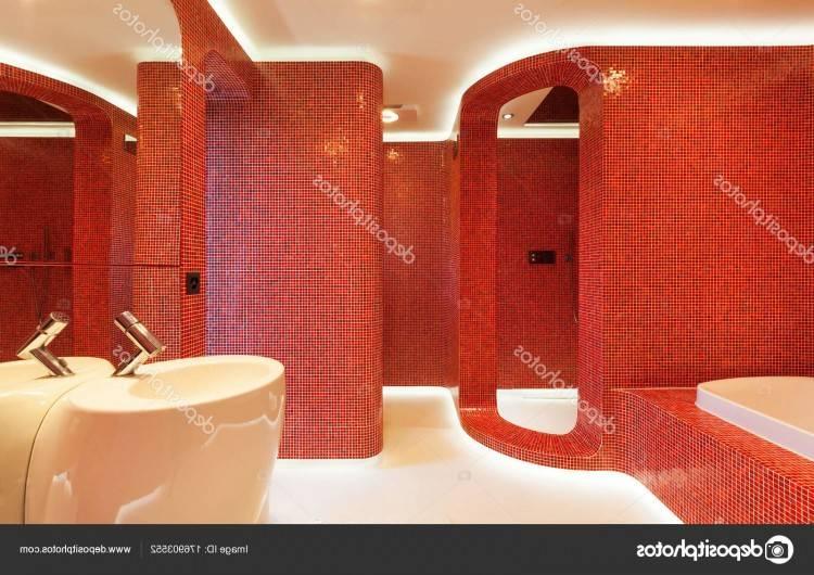 Carrelage Rouge Et Noir Salle De Bain On Moderne Blanc Newsindoco Photo Salle De Bain Noir