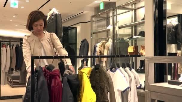 Jeune, femme japonaise, mode, portrait