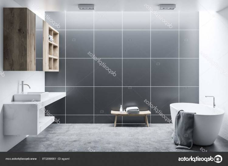 carrelage salle de bain noir