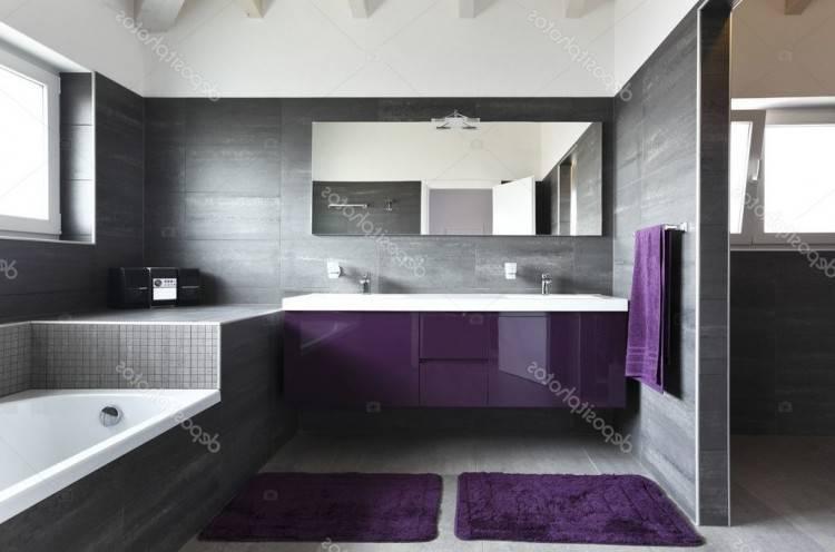 Petite Salle De Bain Contemporaine: Magnifique petite salle de bain  contemporaine ou salle de bain
