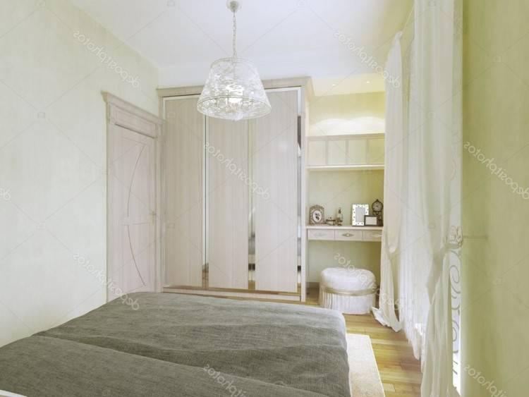 Petite chambre à coucher à l'entrée