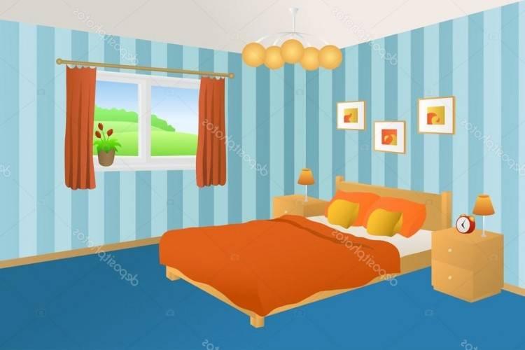 Chambre Coucher Minimaliste Gris Orange   Chambre à coucher