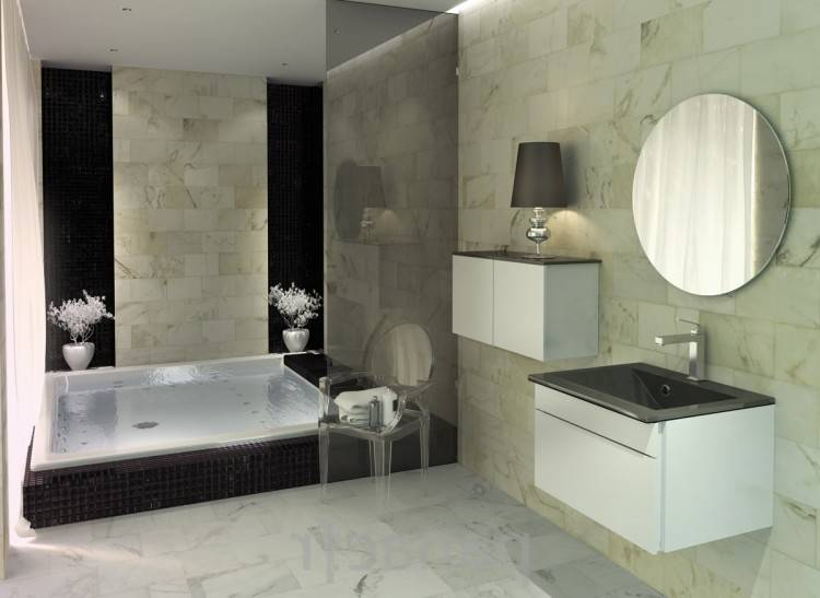 Salle De Bain Moderne 2017: Délicieux salle de bain moderne 2017 à salle de bain