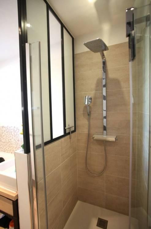 m²) salle de bains avec grande douche, WC séparés, exposition Sud un grand lit et deux lits superposés de grand confort pour 2 à 4 personnes