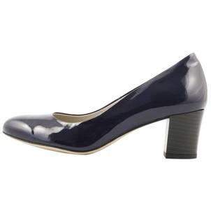 Elegantpark Hp1705 Femmes Peep Toe Stiletto Stiletto Stiletto Sandales À Talons Boucle Satin Partie Marine Bleu