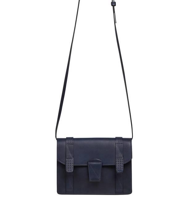Comptoir Des Cotonniers Mini cartable en cuir Bleu marine Femme Sacs et  bagages Maroquinerie,comptoir des cotonniers rouen,le comptoir des  cotonniers