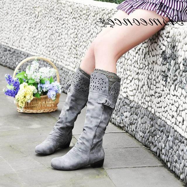 Longra Fashion Couleur Unie Femme Pu Matériau Supérieur Bout Pointu Chaussures À Talons Bas Avec Bout