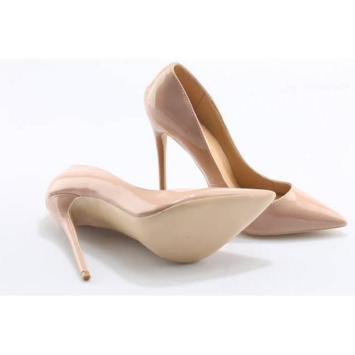 Plus Grand Beige GreatestPAK Chaussures à Talons Hauts Femme D'Été Point Escarpins Stiletto Chaussures de