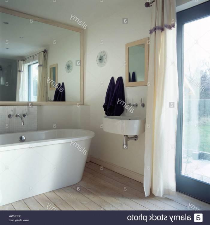 Meuble Salle De Bain Moderne Design Meuble Colonne De Salle De Bain  Contemporain Avec Miroir FREE