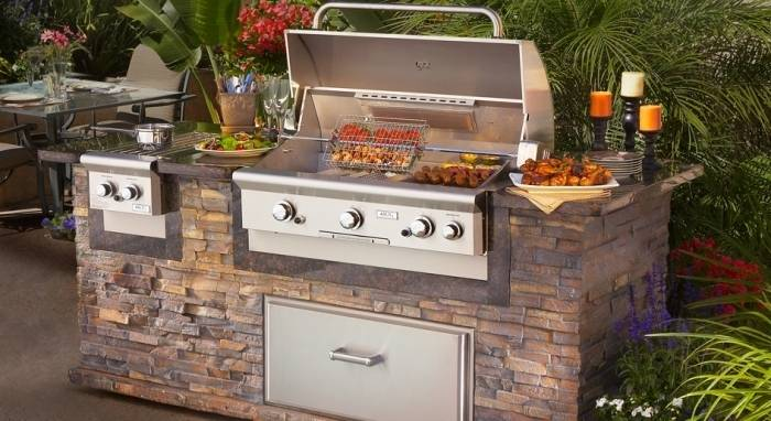 Dans la mouvance de l'outdoor, la cuisine s'invite en terrasse ou au  jardin