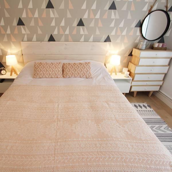 LYM # Tapis de salon Tapis rond de chambre à coucher de tapis de chambre à  coucher de sofa de chambre à coucher nordique tapis (Couleur : D