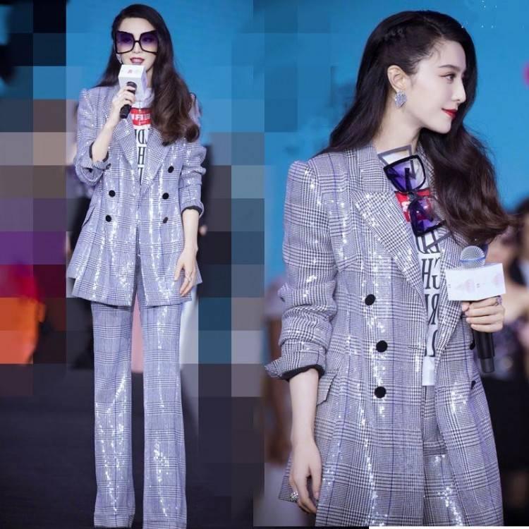 Acheter Marque Mode Femmes Haut De Gamme De Luxe Printemps Mode Bow Imprimer Col V Manches Courtes Haut + Jupe Ensemble De $70